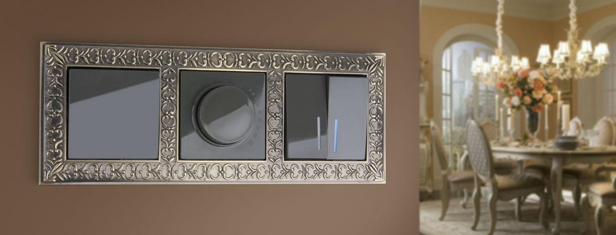 Рамка Antik на 4 поста жемчужный WL07-Frame-04 4690389063527